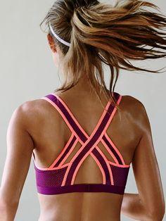 Incredible by Victorias Secret Strappy-back Sport Bra - Victoria's Secret Sport - Victoria's Secret SHOP @ FitnessApparelExpress.com