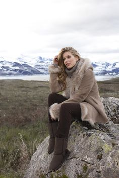 Mylor Toscana Hooded Coat - from Celtic & Co.