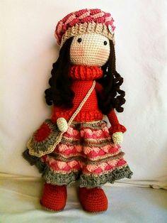 Ésta muñeca está hecha del tutorial de By Petus Ochoa