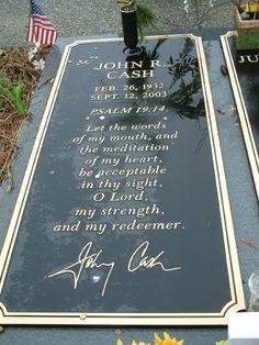 Johnny Cash gravesite