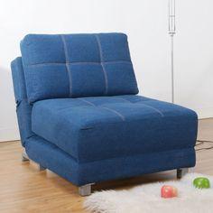 sofa futon mattress covers IKEA blue color