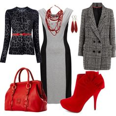 """""""Black and Red"""" by joann4554 on Polyvore"""