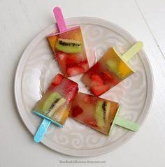 homemade popsicles - Ihan Kaikki Kotona