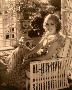Mary Pickford at home ~ *