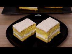 Prajitură cu cremă de iaurt / Maria Popescu - YouTube