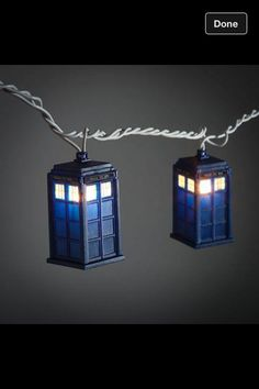 Dr.who Christmas lights , Hehe Alex would love these