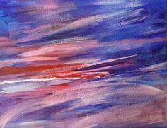Original Acrylics Abstract Painting  16 X 20 Www.sherryharradence.artistwebsites.com