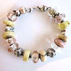 30 day challenge 2015 day 2 Trollbeads bracelet design by Cathy of Tartooful