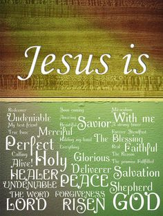 Jesus is my everything!