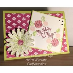 Delightful Daisy and Happy Birthday Gorgeous Stampin' Up! 2017-2018 Catalogue