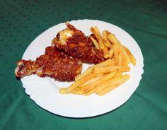 Kentucky fried chicken Fried Chicken, Tandoori Chicken, Kentucky Fried, Lunch Recipes, Fries, Healthy, Ethnic Recipes, Food, Essen