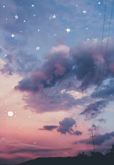 Find images and videos about pink, grunge and blue on We Heart It - the app to get lost in what you love. Phone Wallpaper Boho, Aesthetic Desktop Wallpaper, Anime Scenery Wallpaper, Galaxy Wallpaper, Wallpaper Backgrounds, Sky Aesthetic, Aesthetic Images, Aesthetic Anime, Beautiful Fantasy Art