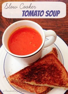 Tomato Soup crock pot recipe