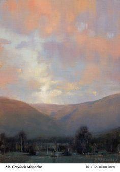 Small Paintings, Large Painting, Landscape Paintings, Landscapes, John Mcdonald, Barbizon School, Small Words, Winter Landscape, Impressionism