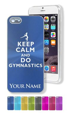 Keep Calm and Do Gymnastics iPhone Case // The Ultimate Gymnastics Gift Guide