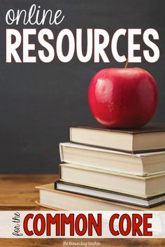 Free online resources for the Common Core. Perfect for learning and exploring your standards when lesson planning!
