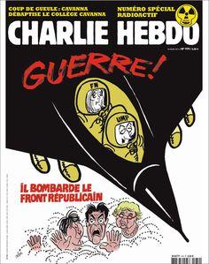 Charlie Hebdo - # 979 - 23 Mars 2011 - Couverture : Cabu