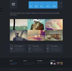 BIR - Responsive Creative WordPress Theme - Portfolio Creative #wordpress #theme #website #template #responsive #design #webdesign #flat #flatdesign #creative #modern #metro #portfolio