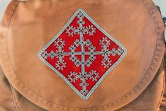 Detail of Saami bag