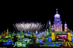The 2013 Harbin International Ice and Snow Festival in China   See More Pictures   #SeeMorePictures