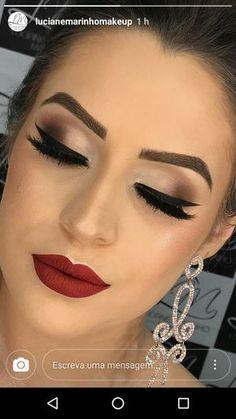Maquillaje para vestido negro para el dia