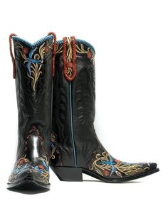 Tattoo You - Handmade Cowboy Boots from Liberty Boot Co