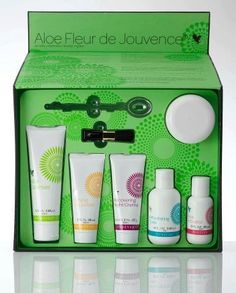 Aloe Fleur de Jovence - a complete facial kit yielding amazing results. http://myflpbiz.com/tadara