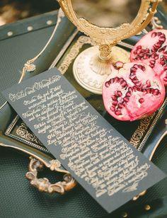 Greek Mythology Wedding Inspiration