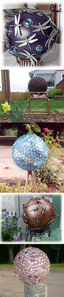 Bowling Ball Gallery #2 - Garden Junk