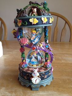 Amazing Alice in Wonderland snow globe!
