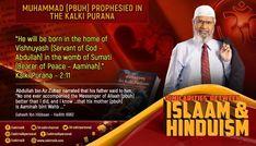 Muhammad (pbuh) prophesied in the Kalki Purana Fathers Say, The Messenger, Hadith, Muhammad, Peace, God, Hinduism, Sayings, Dios