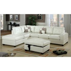 Bobkona Vonure Modular Sectional Furniture-Home and Garden Design Ideas Modular Sectional Sofa, Sectional Furniture, Corner Sectional, Modern Sectional, Leather Sectional, Furniture Decor, Free Couch, Sofa Bed Mattress, Best Sectionals