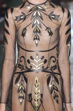 """patternprints journal: PRINTS, PATTERNS AND DETAILS INTO """"COUTURE"""" WOMAN COLLECTIONS FALL/WINTER 2014-15 / Valentino"""