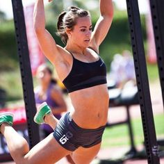 10 Seriously Fit Chicks of CrossFit. I may have developed a bit of a girl crush on Camille Leblanc-Bazinet.