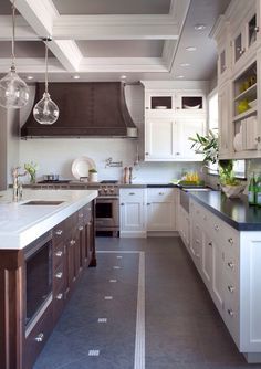 Kitchen Island 6 Feet south shore decorating blog: weekend roomspiration #14 island