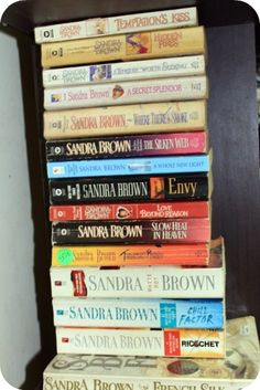 Sandra Brown books are a great read! I prefer her murder mystery books. (I'm not really into romance novels which she also writes). Envy was the first book of hers I ever read and is still my favorite.