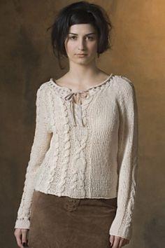 Ravelry: Peasant Blouse pattern by Teva Durham