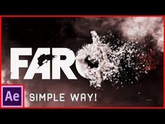 After Effects Tutorial: Particles Logo & Text Animation - YouTube