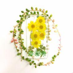 押し花のiPhoneケース4(ハワイアンガーデン)(ドライフラワー) iPhoneケース・カバー Hawaiian_Garden ハンドメイド通販・販売のCreema