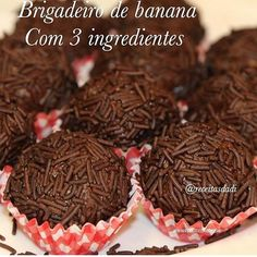 Image may contain: dessert and food Vegetarian Recipes, Healthy Recipes, Banana Recipes, Health Snacks, Vegan Sweets, Going Vegan, Finger Foods, Love Food, Appetizer Recipes