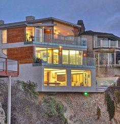 Gull House by Lautner in California
