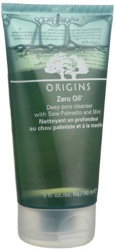 Origins Zero Oil™ Deep Pore Cleanser 5 oz by Origins. $20.00. An efficacious, mildly foaming cleanser. What it is:A foaming cleanser that helps clear pores, eliminate excess oil, and reduce shine. What it is formulated to do:This maximum-strength foaming cleanser leaves skin tingly clean and refreshed. Formulated with skin-clearing saw palmetto, cooling mint, and pore-minimizing salicylic acid, these natural ingredients delete excess oil without overdrying skin. Pores are re...