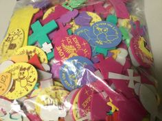 FOAM STICKERS, ARTS & CRAFTS, VARIOUS SIZES, NEW IN BAG