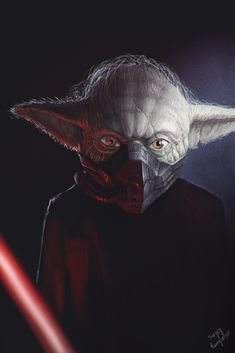 Naughty Yoda by kabarsa on deviantART