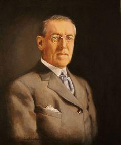 "28th - Woodrow Wilson  (March 4, 1913 to March 3, 1921)  Nickname: ""Schoolmaster in Politics""  Born: December 28, 1856, in Staunton, Virginia Died: February 3, 1924, in Washington, D.C."