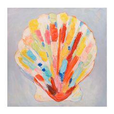 Colorful Shell Canvas Art Print | Kirklands
