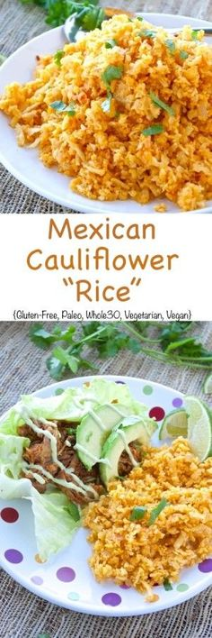 Mexican Cauliflower Rice Pin