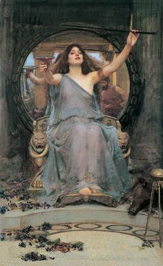 John William Waterhouse, Circe Offering the Cup to Ulysses, 1891. Oil on canvas, 149 x 92 cm
