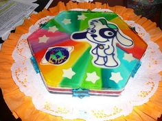 Gelatina de doki - Imagui Party Themes, Cake, Desserts, Food, How To Make, Tailgate Desserts, Deserts, Mudpie, Meals