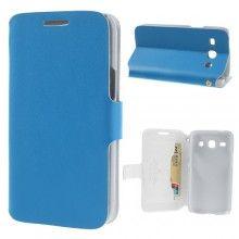 Capa Samsung Galaxy Core Plus Livro Carteira Azul Celeste  12,99 €